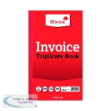 Silvine Duplicate 210x127mm Invoice Book (6 Pack) 611