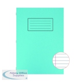 Silvine Exercise Book A4 Ruled with Margin Blue (10 Pack) EX108