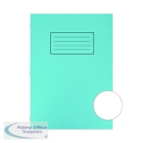 Silvine Exercise Book A4 Plain Blue (10 Pack) EX114
