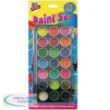 Tallon 21-Colour Paint Set 5104