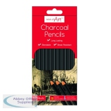 Work of Art Charcoal Pencils (12 Pack) TAL05148