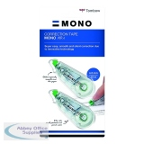Tombow MONO air4 Correction Tape 4.2mm x 10m (3 Pack) CT-CA4-3P