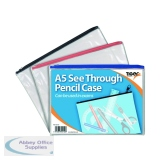 See Through Pencil Case 245 x 160mm (12 Pack) 302152