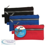 Chunky Zip Pencil Case (12 Pack) 301317