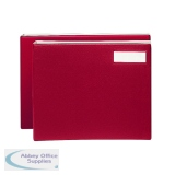 Rexel Variform V8 Maroon Multi-Ring Binder 75155
