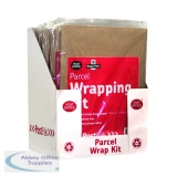 Post Office Brown Post Pack Wrap Kit (10 Pack) 39124016