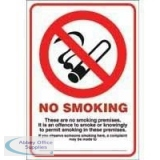 Safety Signs - Smoking
