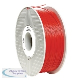 Verbatim ABS 3D Printing Red Filament 1.75mm 1kg Reel 55013