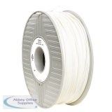 Verbatim ABS 3D Printing White Filament 2.85mm 1kg Reel 55017