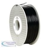 Verbatim PLA 3D Printing Black Filament 1.75mm 1kg Reel 55267
