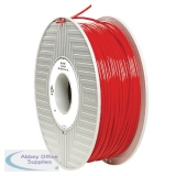 Verbatim PLA 3D Printing Red Filament 2.85mm 1kg Reel 55279