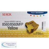Xerox Phaser 8560 Yellow Solid Ink Stick (3 Pack) 108R00725