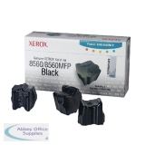 Xerox Phaser 8560 Black Solid Ink Sticks (3 Pack) 108R00726