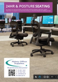 Abbey Office Supplies - 24 Hour and Posture Seating (PDF Brochure)...