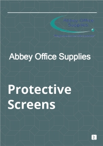Abbey Office Supplies - Protective Screens - PDF Brochure